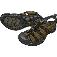 Men's Keen Newport Sandals LTBRWN 9  MED