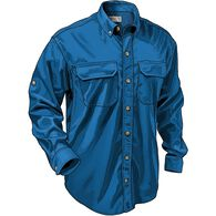 Men's Dry on the Fly Long Sleeve Shirt OCEAN BLUE