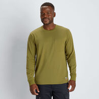 Men's 40 Grit Long Sleeve T-Shirt with Pocket
