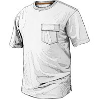 Men's Spillfighter T-Shirt with Pocket WHITE MED