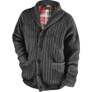 Men's Woolpaca Shawl Collar Cardigan