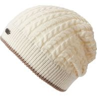 Women's Gathered Slouch Beanie PUTTY