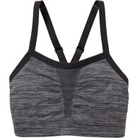 Women's AirDurance Light Support Sports Bra BLACK SM
