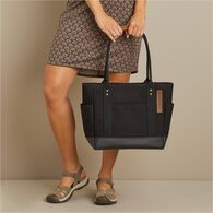 Thoroughbred Canvas Tote BLACK