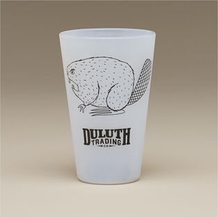 Duluth Trading Silipint Silicone Angry Beaver Pint