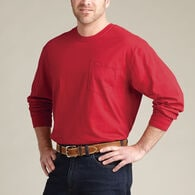 Men's Longtail T Long Sleeve T-Shirt with Pocket B