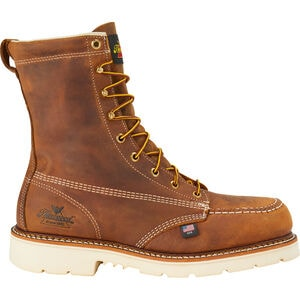 "Men's Thorogood 8"" Safety Toe Moc Toe Boots"