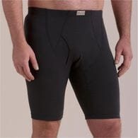 Men's Free Range Cotton Extra Long Boxer Briefs BL