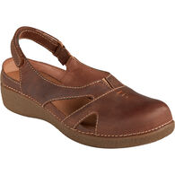 Women's Andina Leather Sandals BROWN 6.5 MED