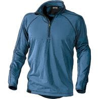 Men's 3 Dog Fleece 1/2 Zip Base Layer Shirt OCEANB