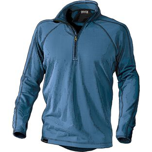 Men's 3 Dog Fleece 1/2 Zip Base Layer Shirt