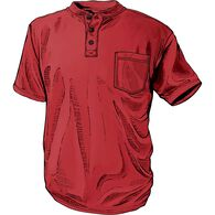 Men's Longtail T Short Sleeve Henley with Pocket B