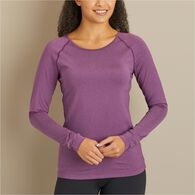 Women's Breezeshooter Knit Long Sleeve T-Shirt BLU