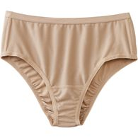 Women's Plus Buck Naked Performance Briefs BEIGE 2