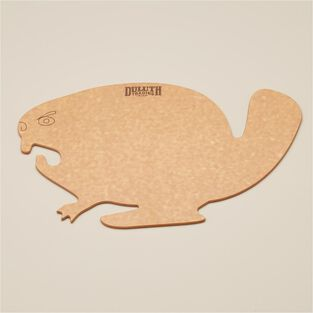 Duluth Trading Angry Beaver Cutting Board