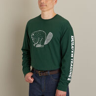 Men's Longtail T Angry Beaver Logo Long Sleeve PAL