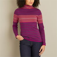 Women's S'no Sweat Mock Neck Sweater MARNSTP LRG