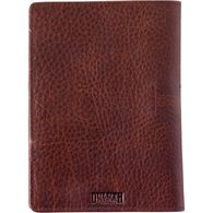 Women's Lifetime Leather Passport Wallet BROWN
