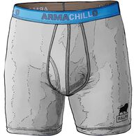 Men's Chillpen Boxer Briefs LTGRAY 2XL