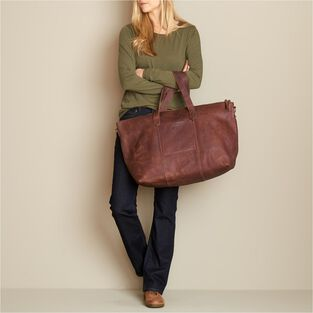 Lifetime Leather Travel Duffle Bag