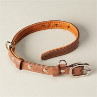 Leather Dog Collar BROWN MED