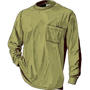 FINAL SALE-Men's Houston Longtail T Long Sleeve with Pocket