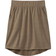Women's To 'n' Flow Jersey Skirt OLVMOSS LRG