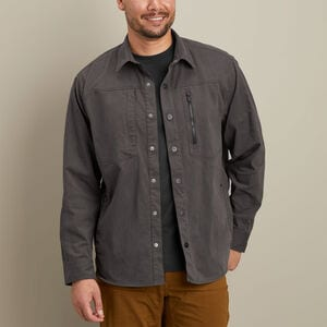Men's AKHG Stone Run Standard Fit Overshirt