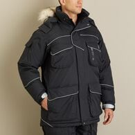 Men's Alaskan Hardgear Ice Fog Down Parka BLACK ME