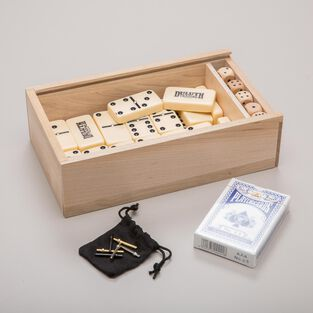 Duluth Trading Wooden Game Set