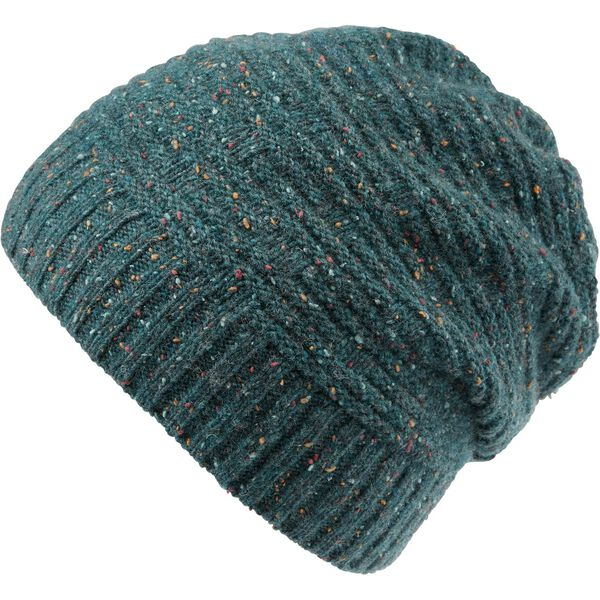 Women's Donegal Fleck Cinched Back Beanie TEADNGL
