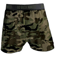 Men's Buck Naked Performance Pattern Boxers CAMPRN