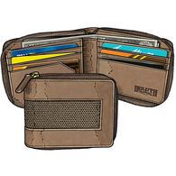 Men's Fire Hose Zip Wallet BROWN