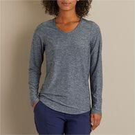 Women's Armachillo Long Sleeve V-Neck T-Shirt DEEP