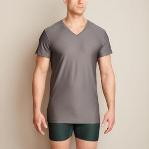 Men's Buck Naked Performance V-Neck Undershirt