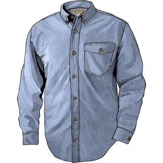 Men's Iron Mountain Oxford Long Sleeve Solid