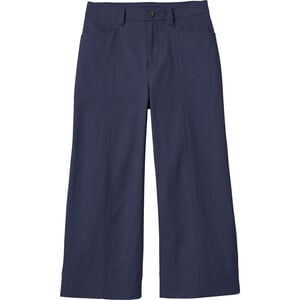 Women's Plus Workday Warrior Chino Wide Leg Crop Pants
