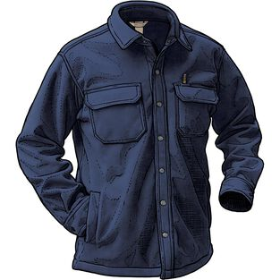 Men's Shoreman's Fleece Shirt Jac