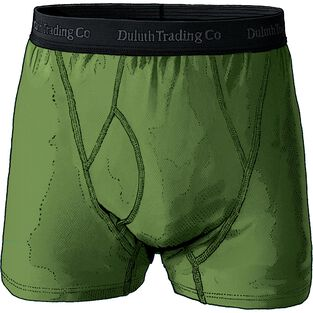Men's Buck Naked Performance Short Boxer Briefs