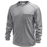 Men's Dry on the Fly Waffle Long Sleeve Crew GRAYH