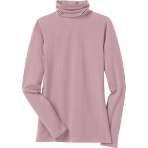 Women's No-Yank Long Sleeve Turtleneck T-Shirt