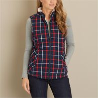 Women's Insulated Holiday Vest CREBCHK MED