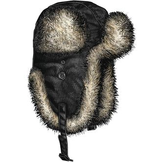 ... Men s Alaskan Hardgear Fur Trapper Hat BLACK ... 635f44d0b56