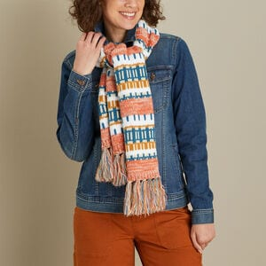 Women's Holiday Knit Scarf