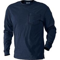 Men's Un-Longtail T Long Sleeve T-Shirt NAVY SM