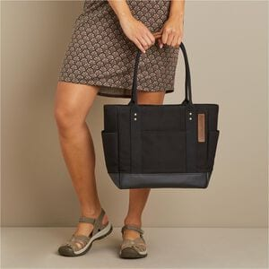 Thoroughbred Canvas Tote