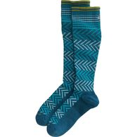 Women's Sockwell Chevron Compression Socks TEAL S/