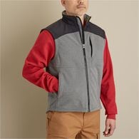 Men's Shoreman's Fleece Grid-Lock Vest CLASRED MED