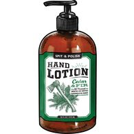 Spit & Polish Cedar and Fir Hand Lotion 16-oz.