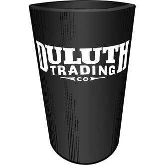 Duluth Trading Silicone Pint Glass BLACK